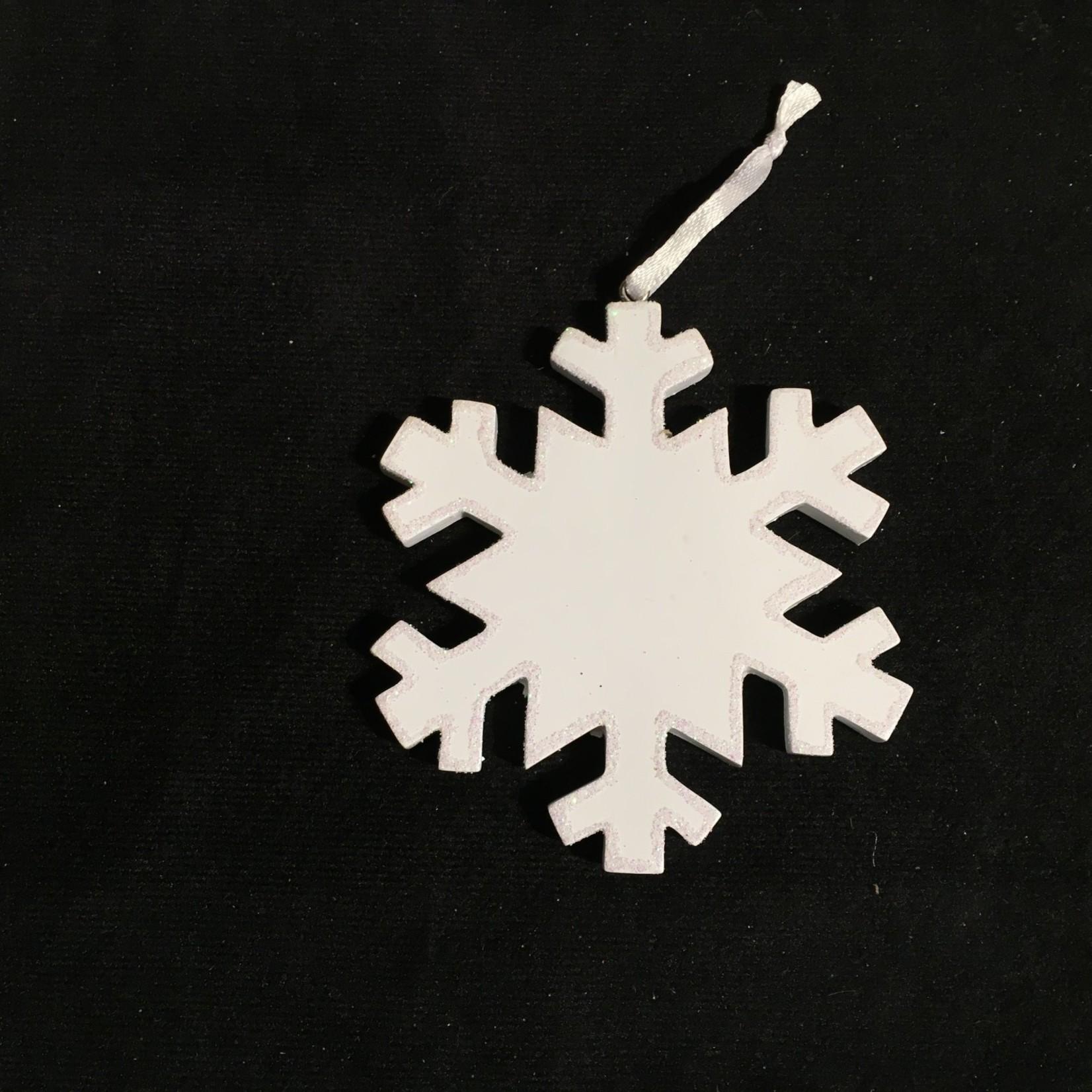 **Personalizable Snowflake Ornament