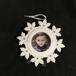Snowflake Photo Frame/Orn