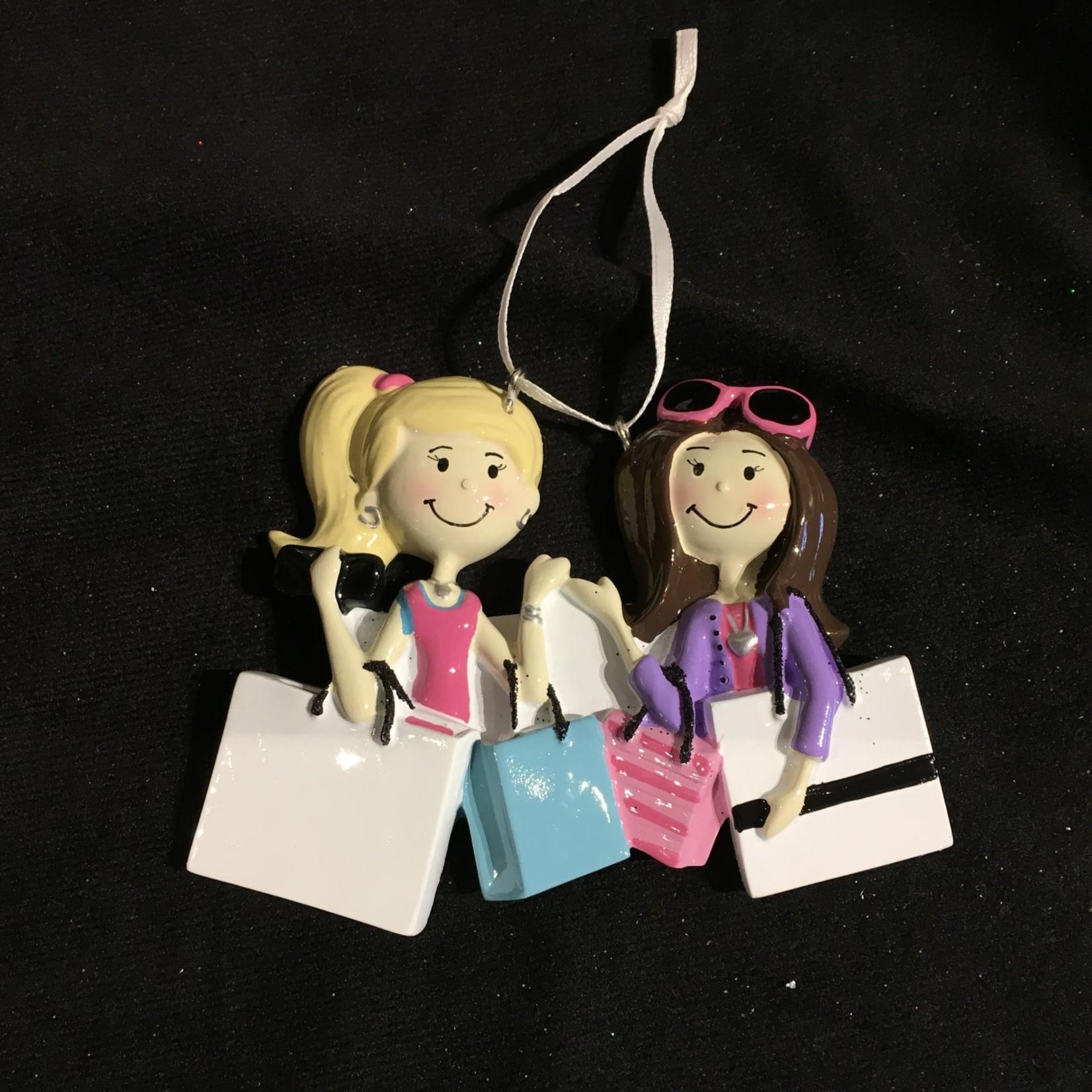 Shopping Friends Ornament