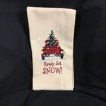 Ready Set Snow Tea Towel