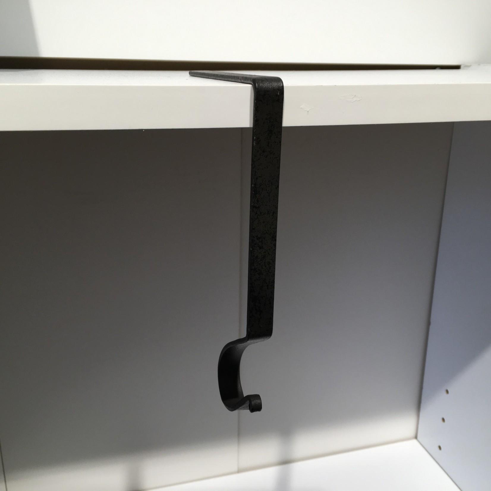 Plain Iron Finish Stocking Holder