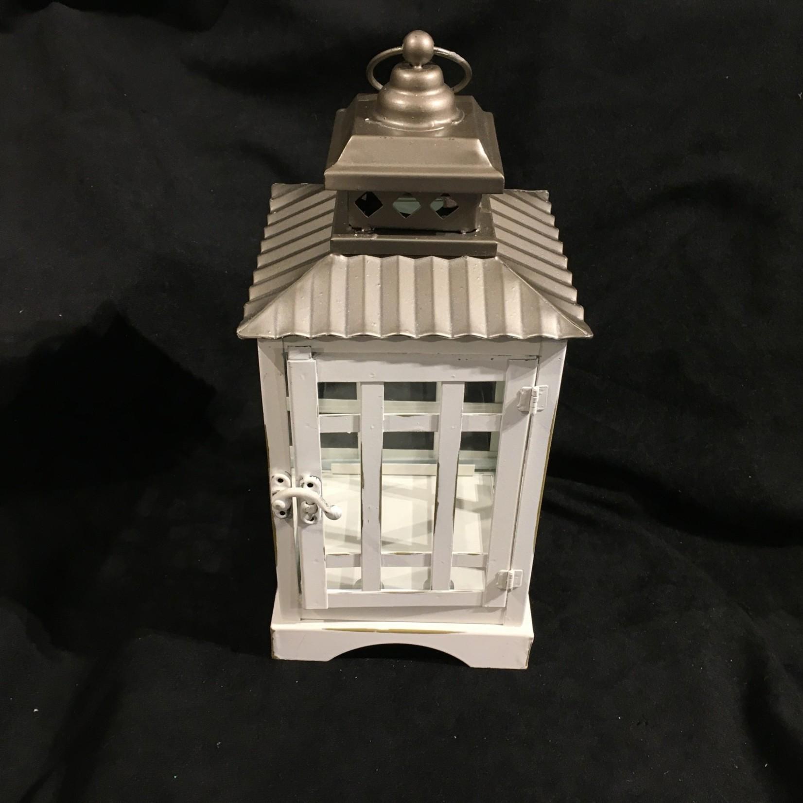 """12"""" White Lantern - Small"""