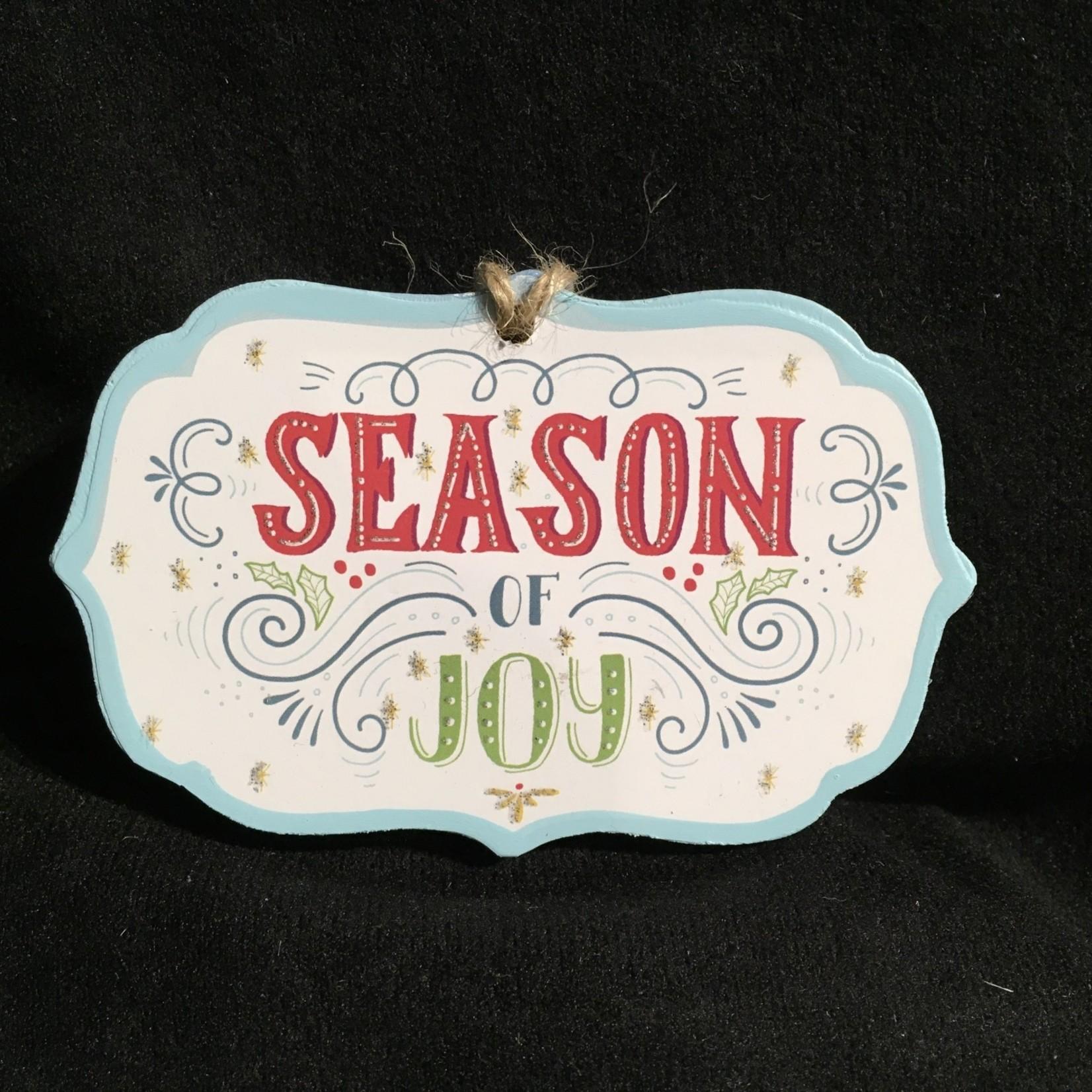 Season Of Joy Ornament