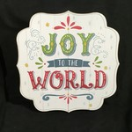 """Joy to the World Wall Plaque (14.75x14.75"""")"""