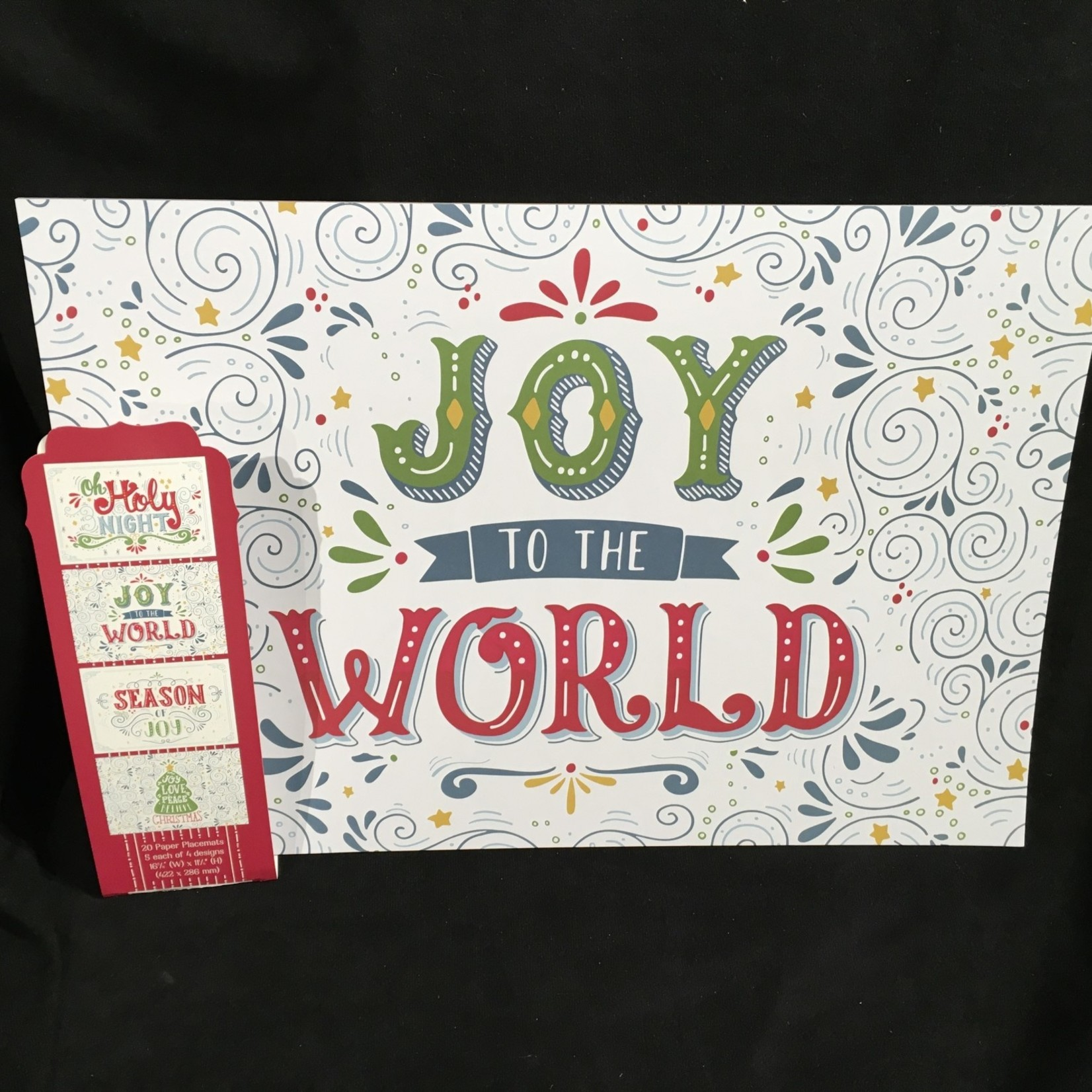 Joy to the World Paper Place Mats