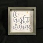 """Farmhouse Frame - O Night Divine (10.25x10.25"""")"""