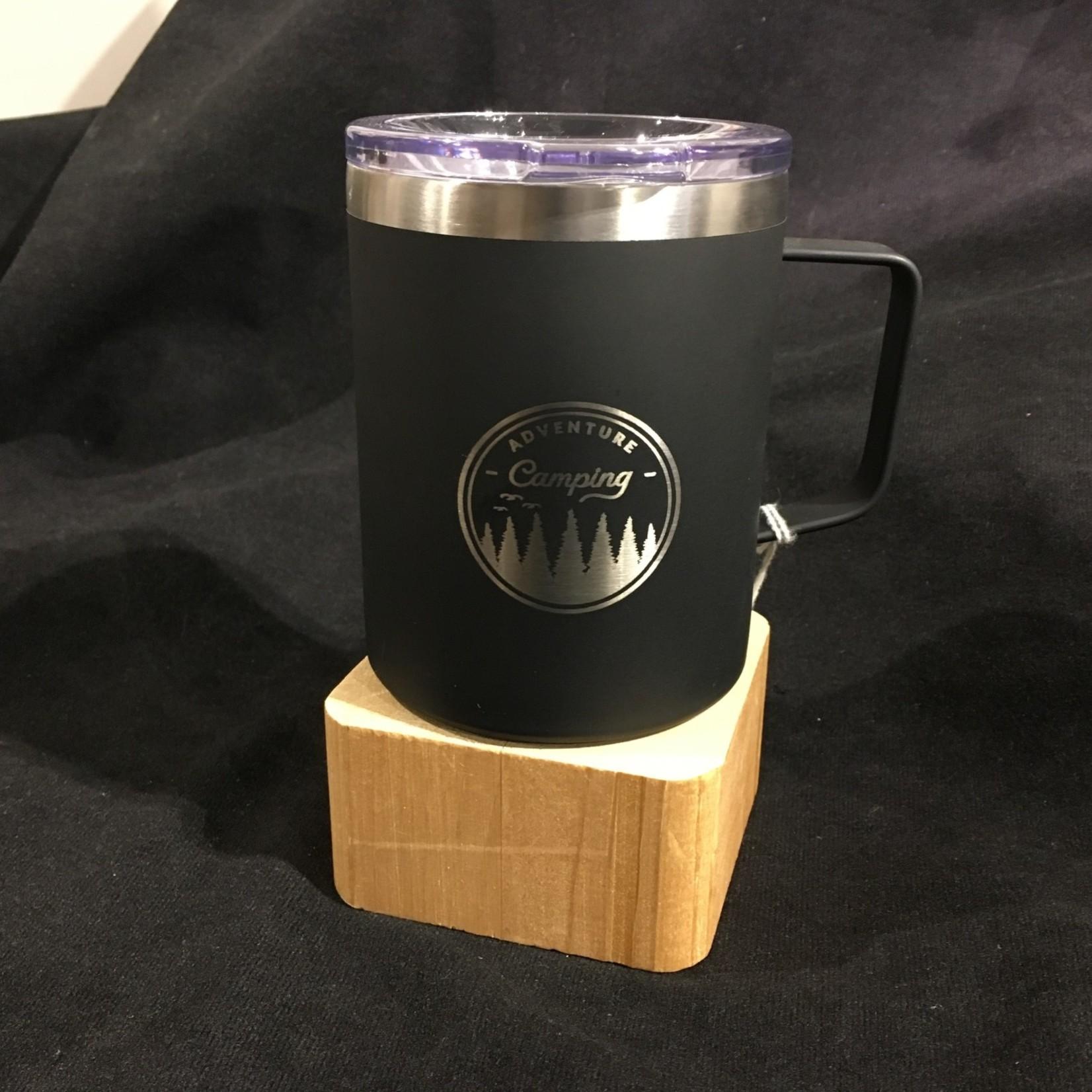 Campfire Mug - Black (12 oz)