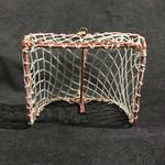 "**Hockey Net Ornament 4.5x4"""
