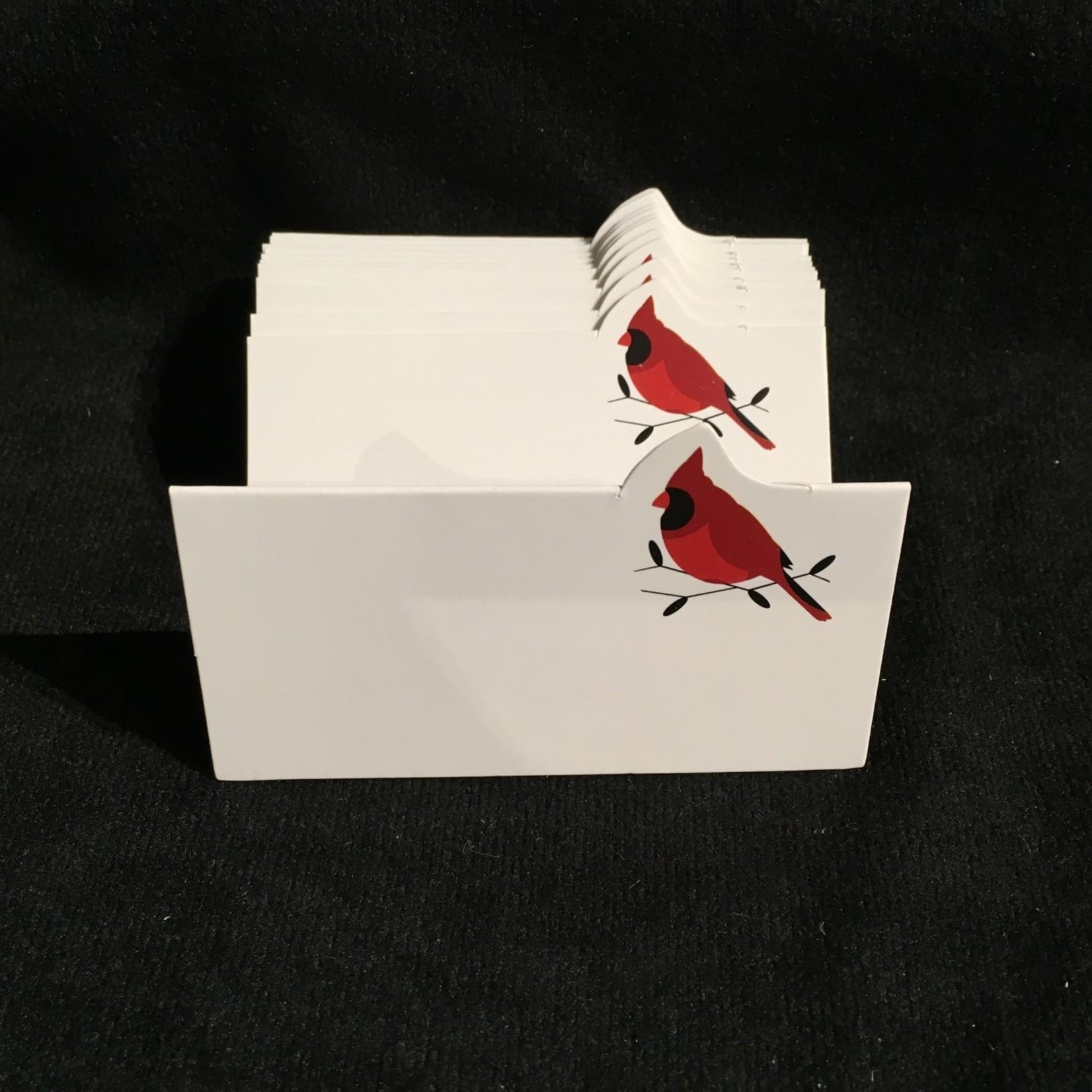 Cardinal Fold Placecard Holder (12 pc)
