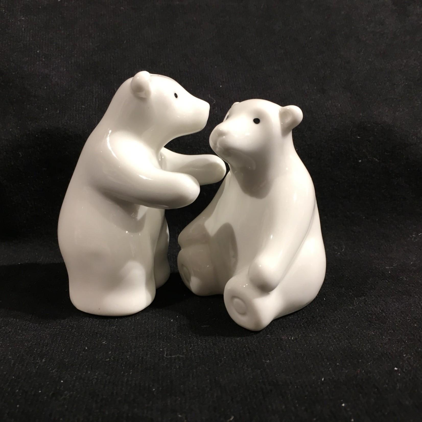 Standing/Sitting Polar Bears Salt & Pepper