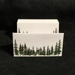 Evergreen Fold Place Card (12 Pk)