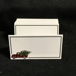 **Plaid Truck Fold Placecards (12 pc)