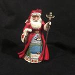 Jim Shore - Canadian Santa w/Staff