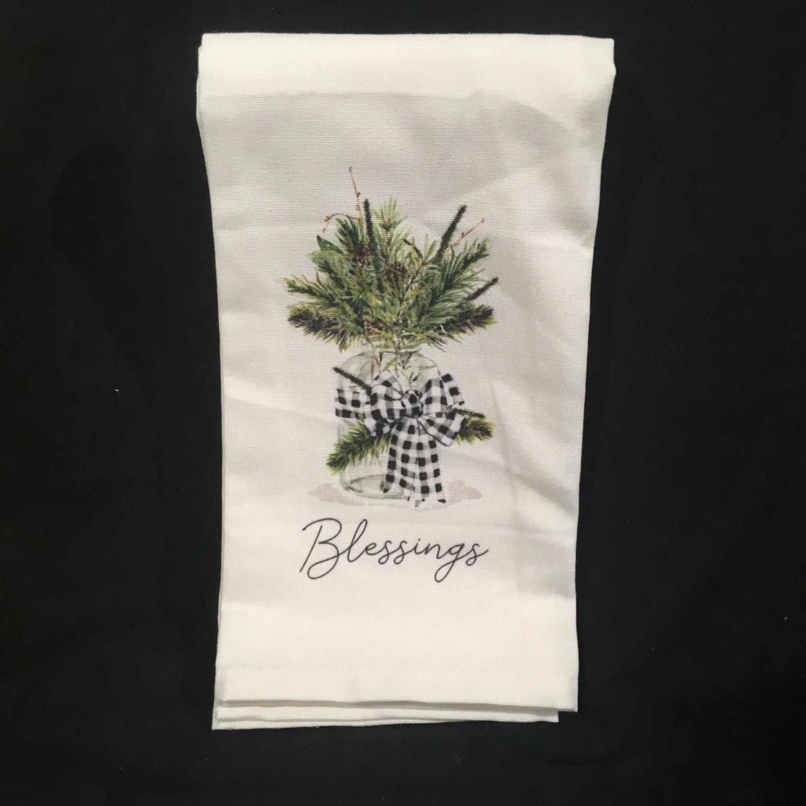 **Blessings Tea Towel