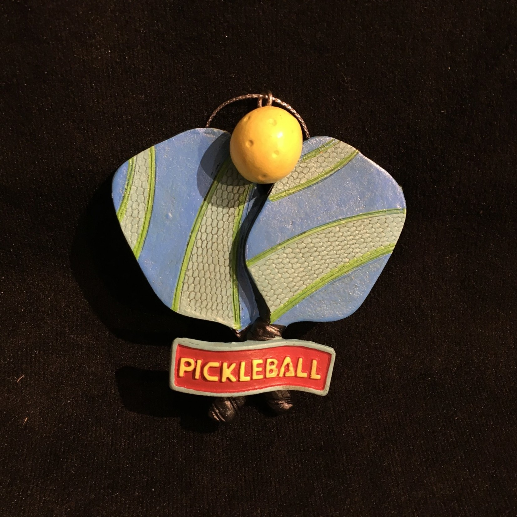 Pickle Ball Racquet Orn