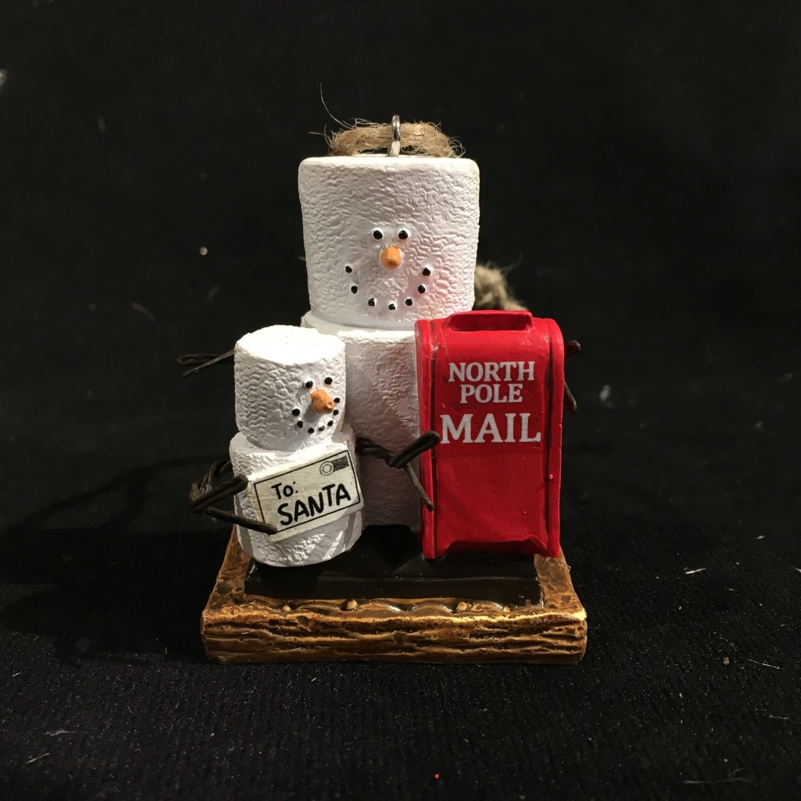 S'Mores Letter to Santa