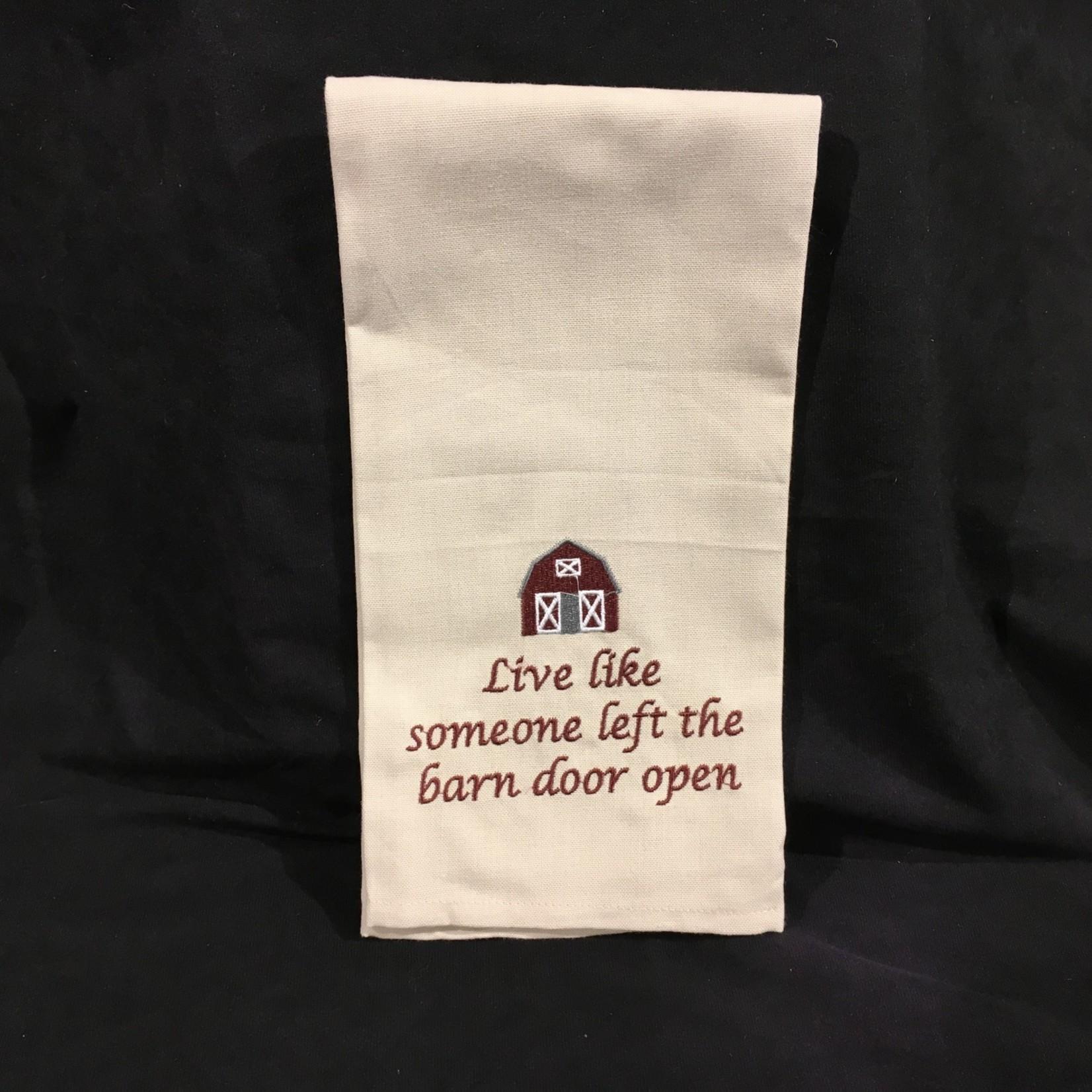 Live Like Tea Towel