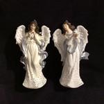 "5"" Angel w/Silver Dots Orn 2A"