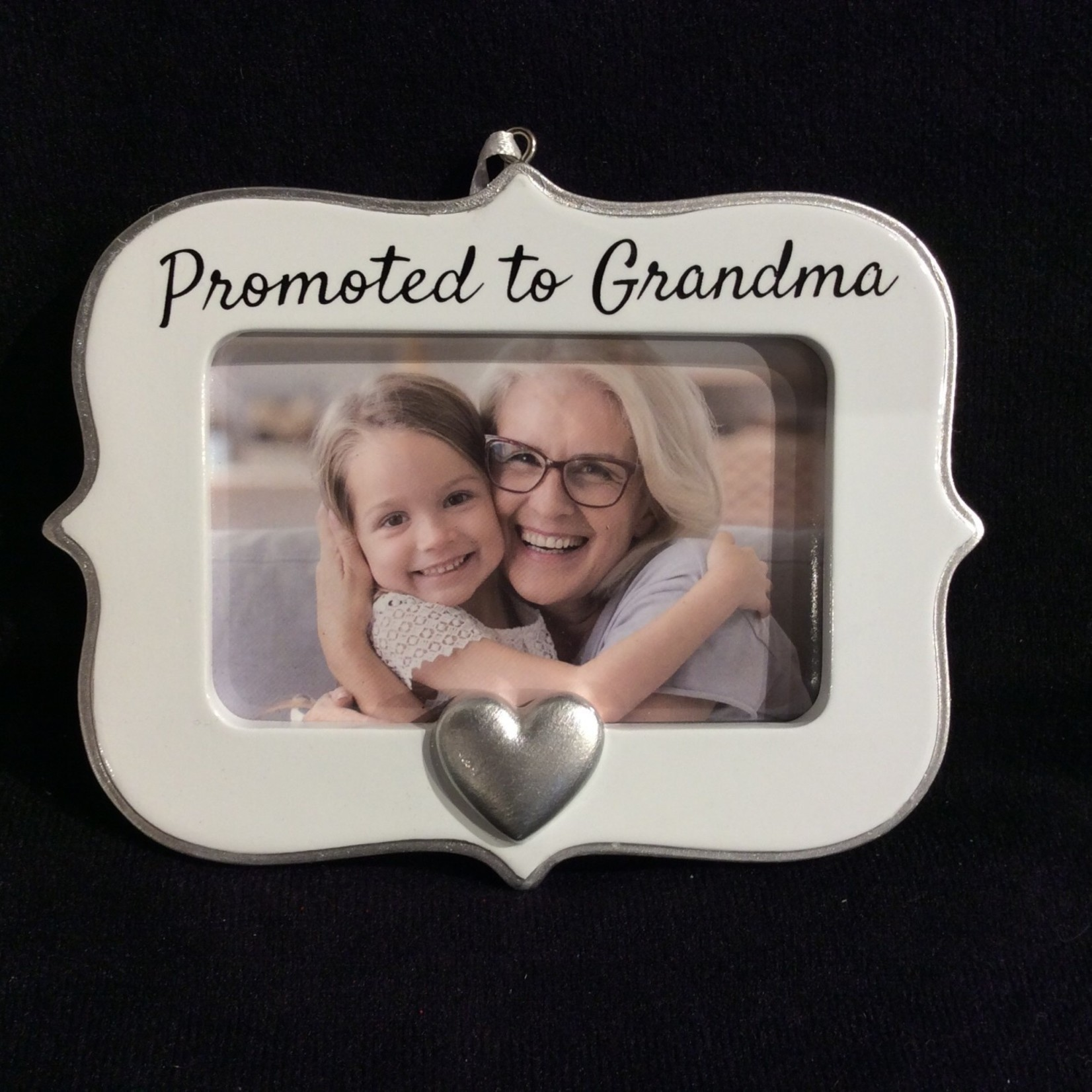 """Promoted to Grandma Frame/Orn (3x2"""" Photo)"""