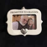 """Promoted to Grandpa Frame/Orn (3x2"""" Photo)"""