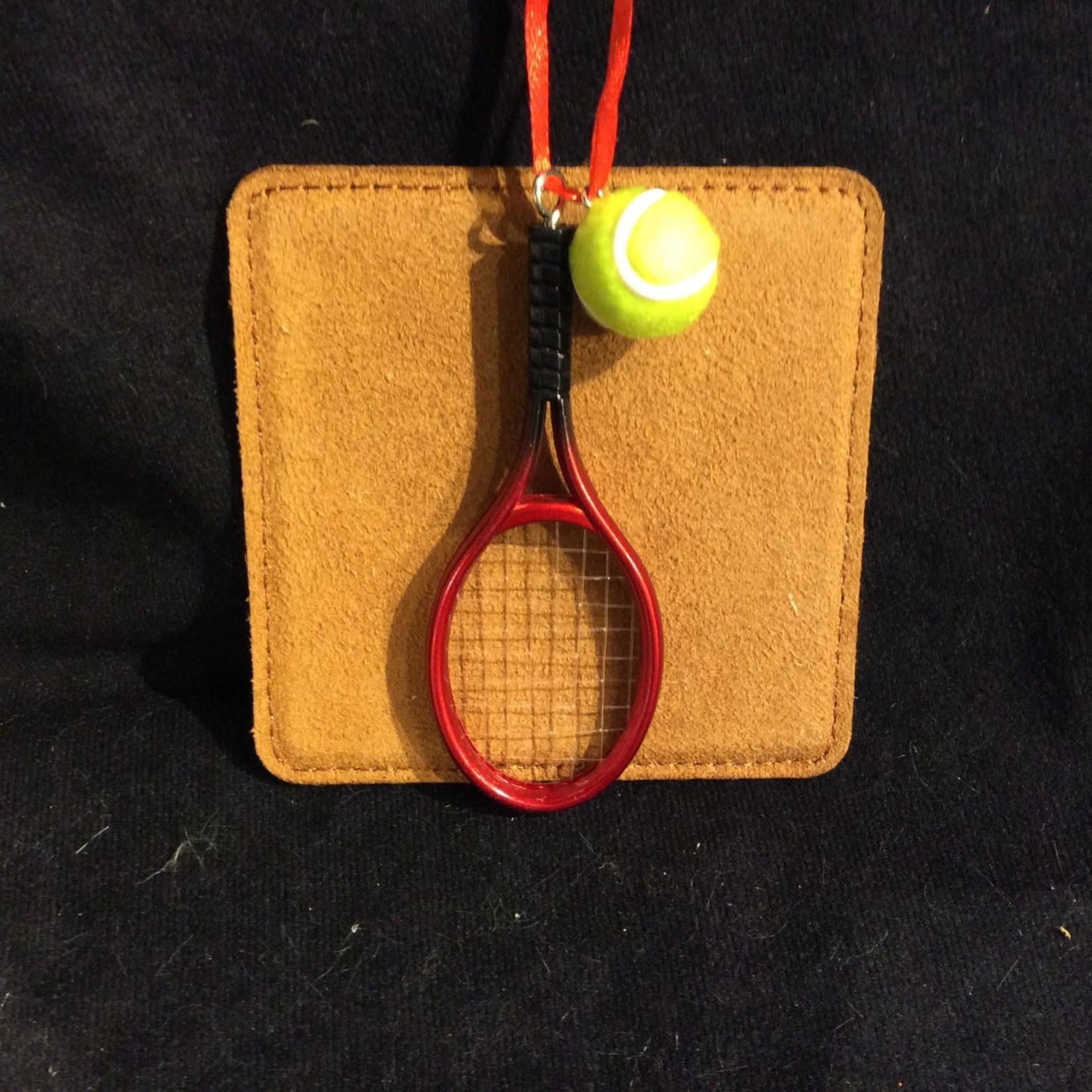 Tennis Racket & Ball Orn