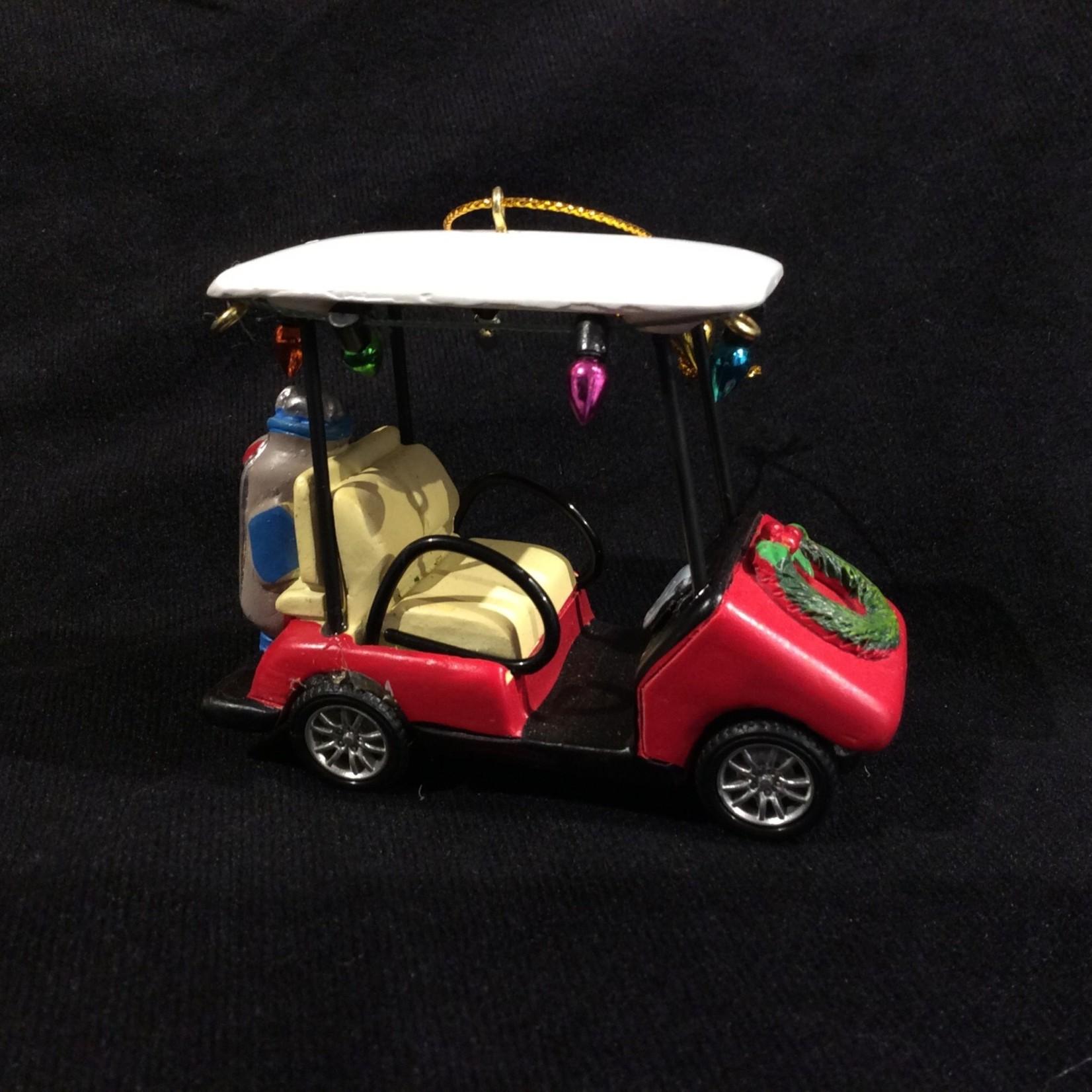 """3.5"""" Golf Cart Orn"""