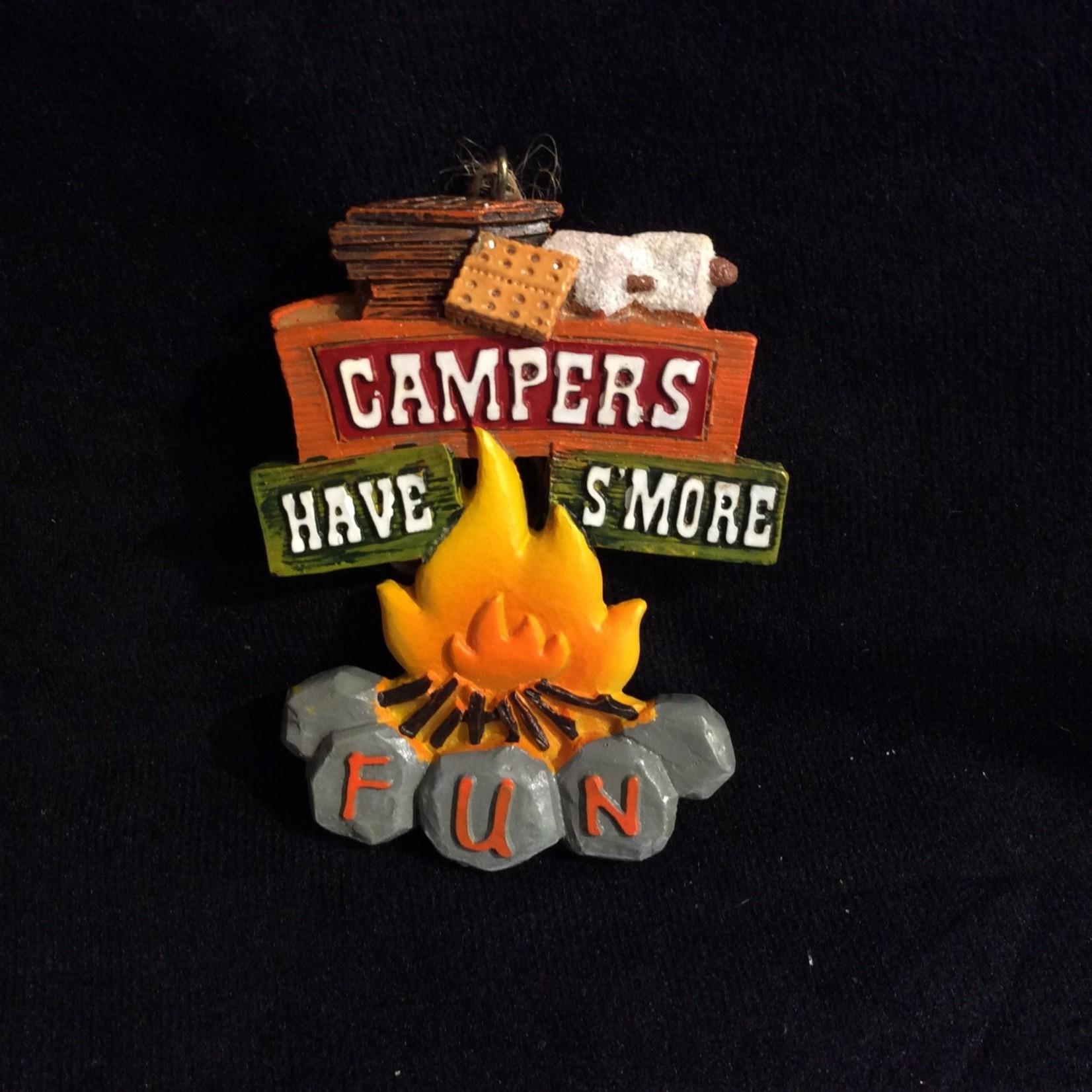 Campfire w/S'More Orn