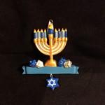 """4"""" Hanukkah Menorah"""