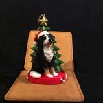 Bernese Mtn Dog w/Tree