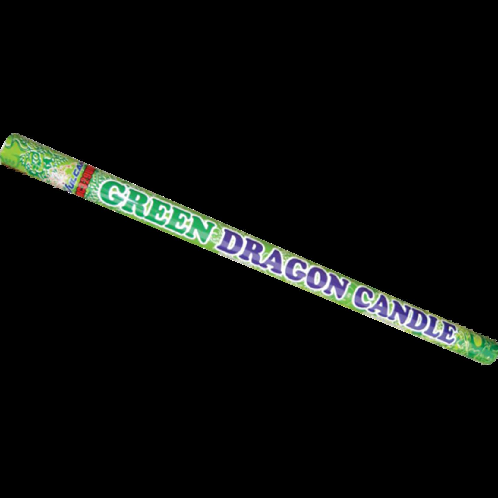 Green Dragon Candle