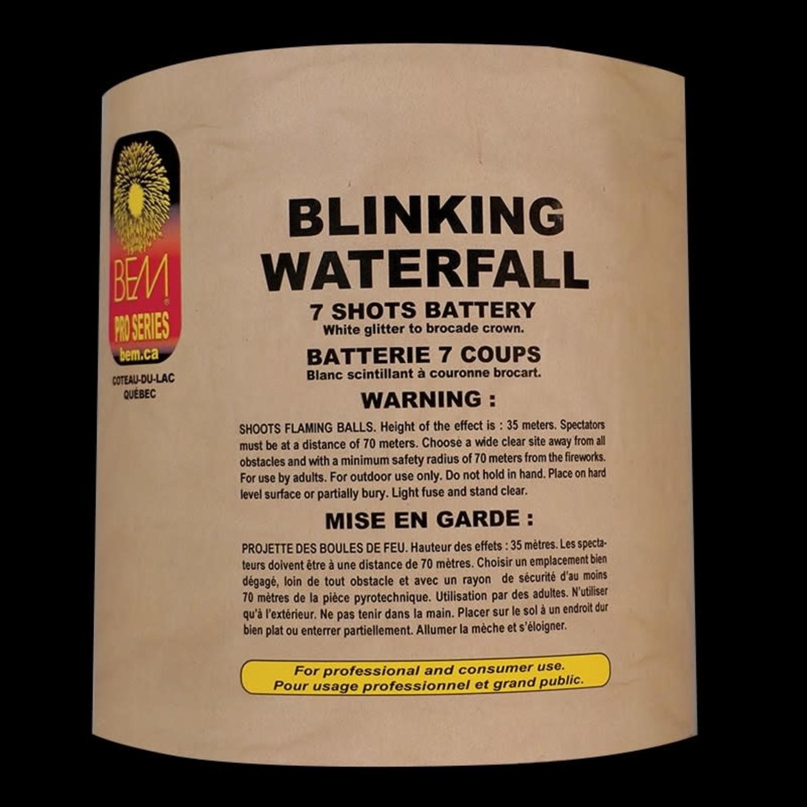 Blinking Waterfall