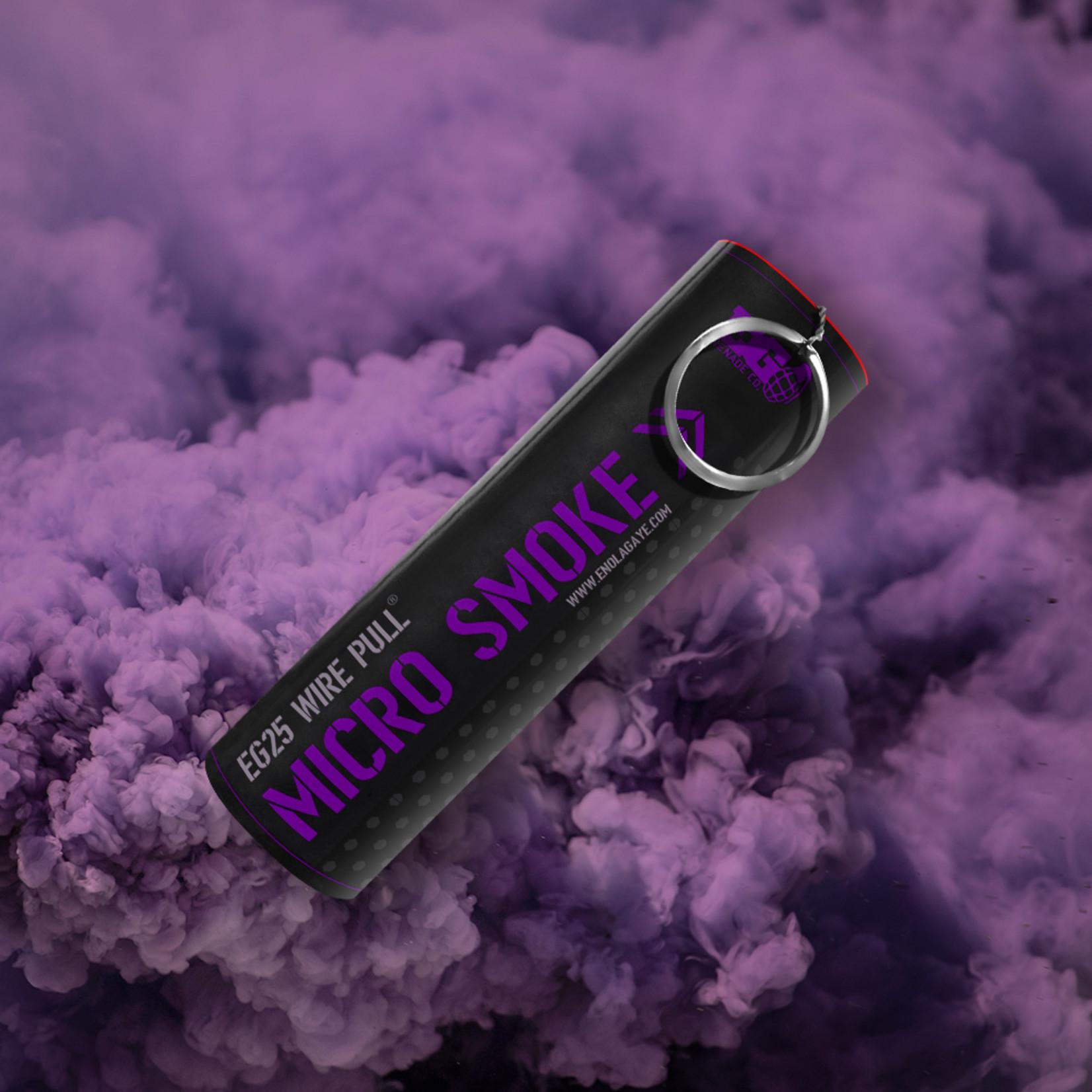 EG25 Micro Smoke Grenade Purple