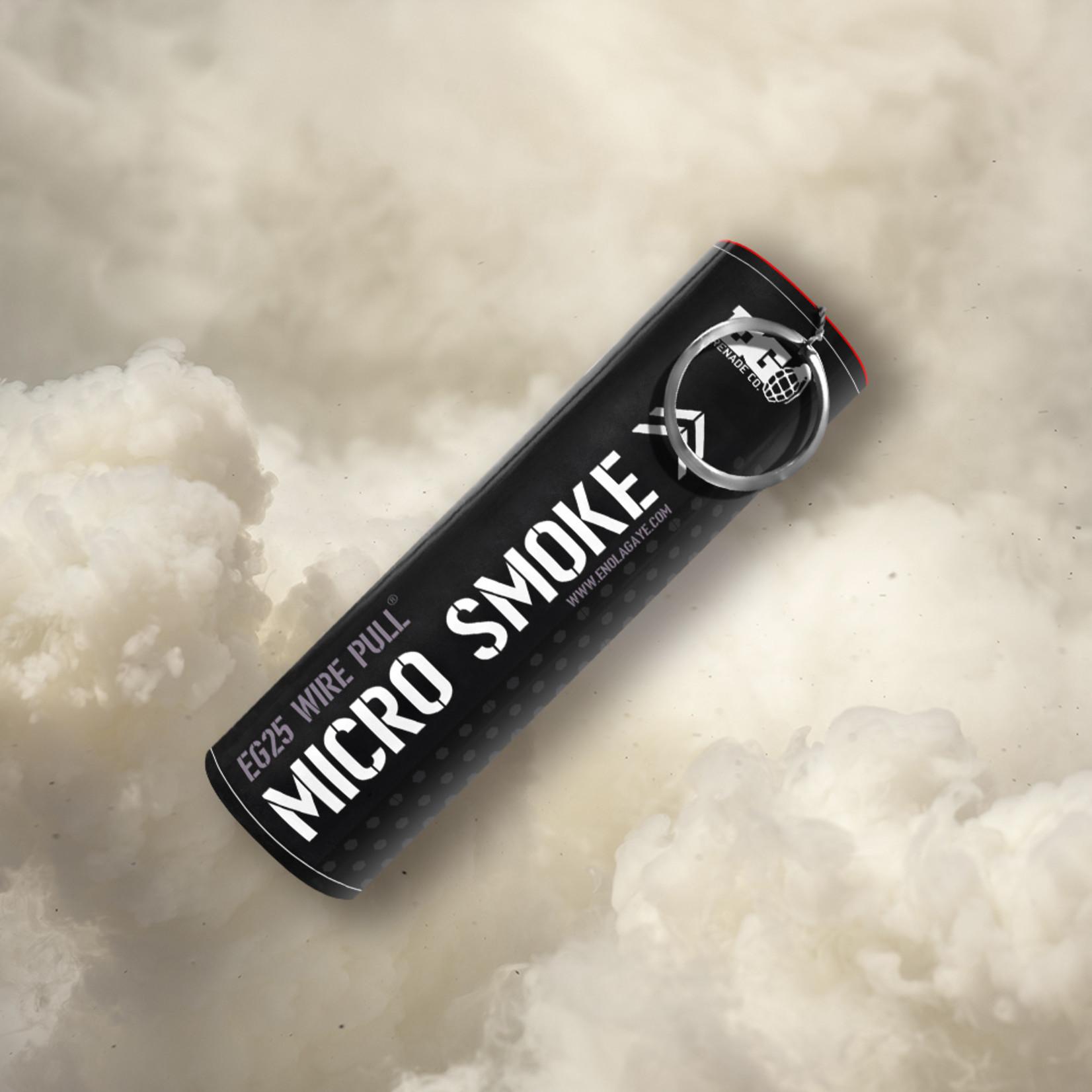 EG25 Micro Smoke Grenade White