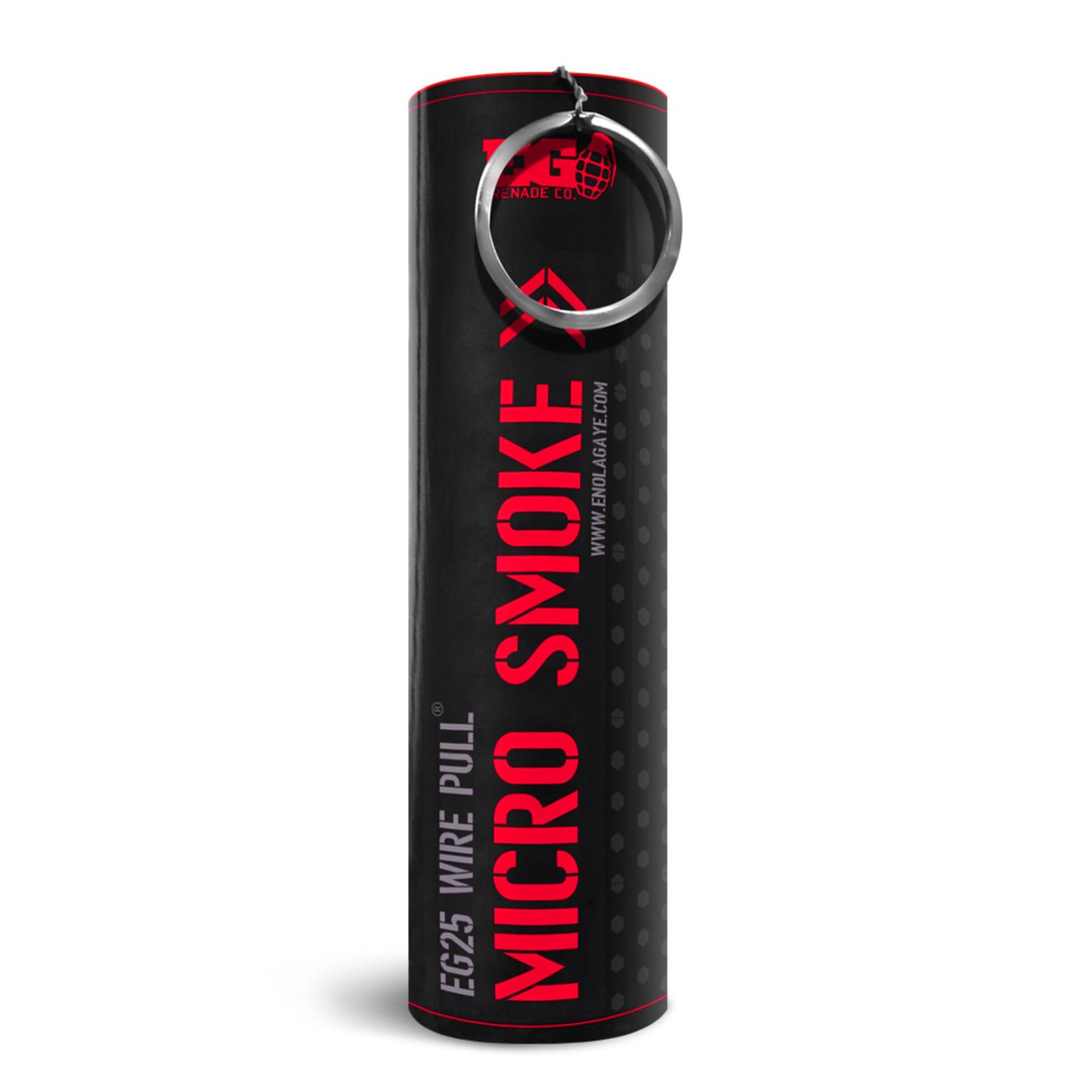 EG25 Micro Smoke Grenade Red