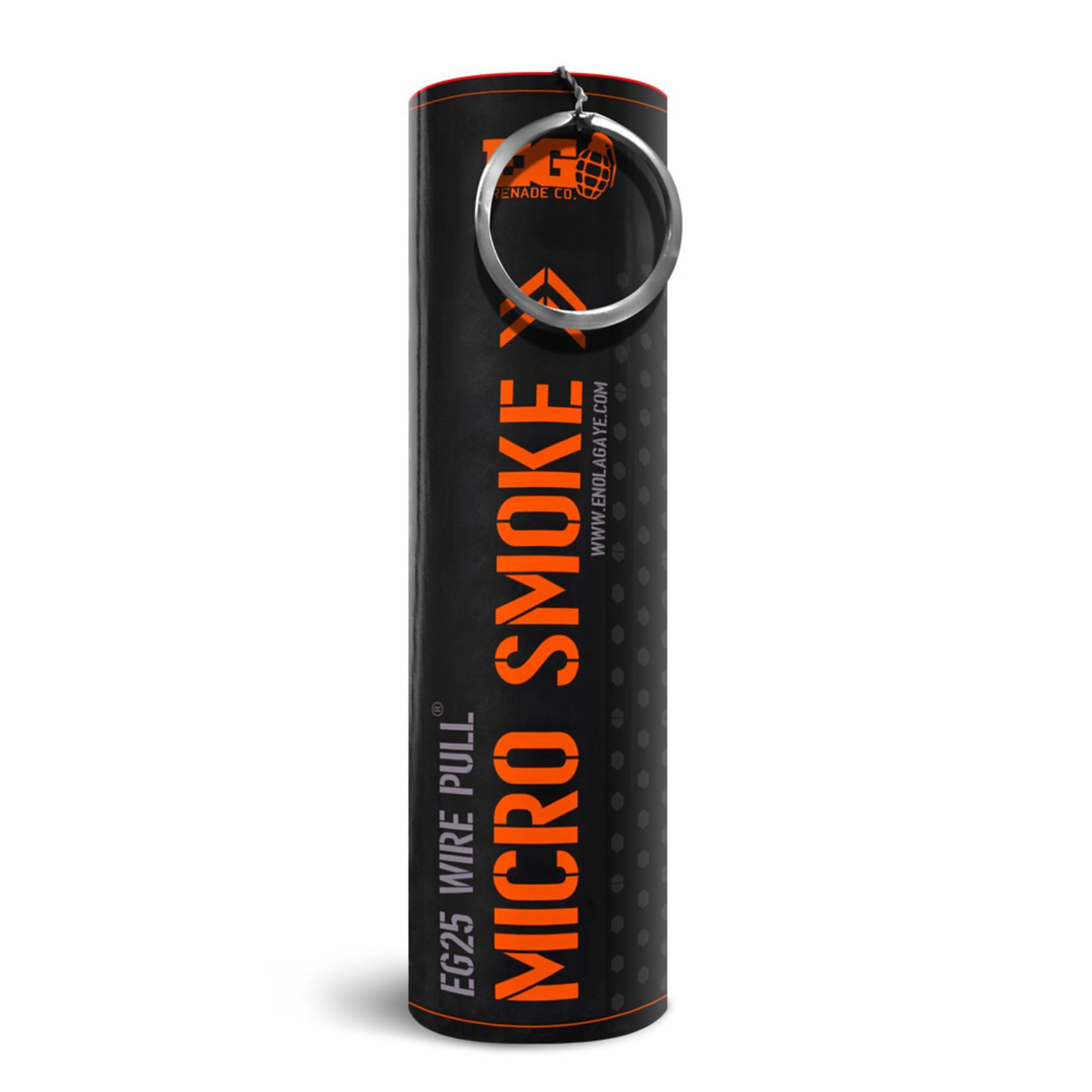 EG25 Micro Smoke Grenade Orange