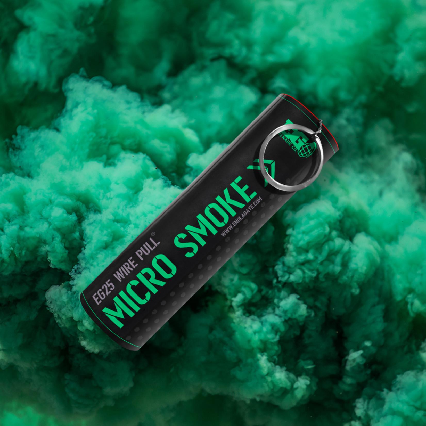EG25 Micro Smoke Grenade Green