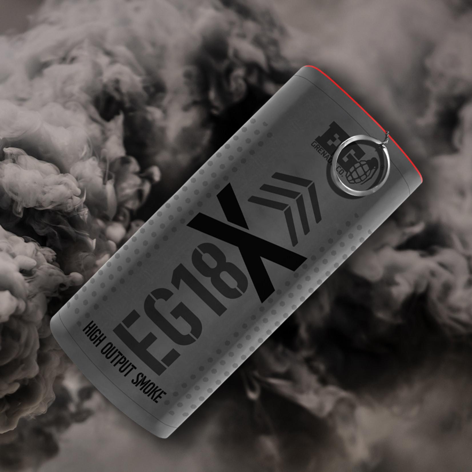 EG18X - Black Smoke Grenade