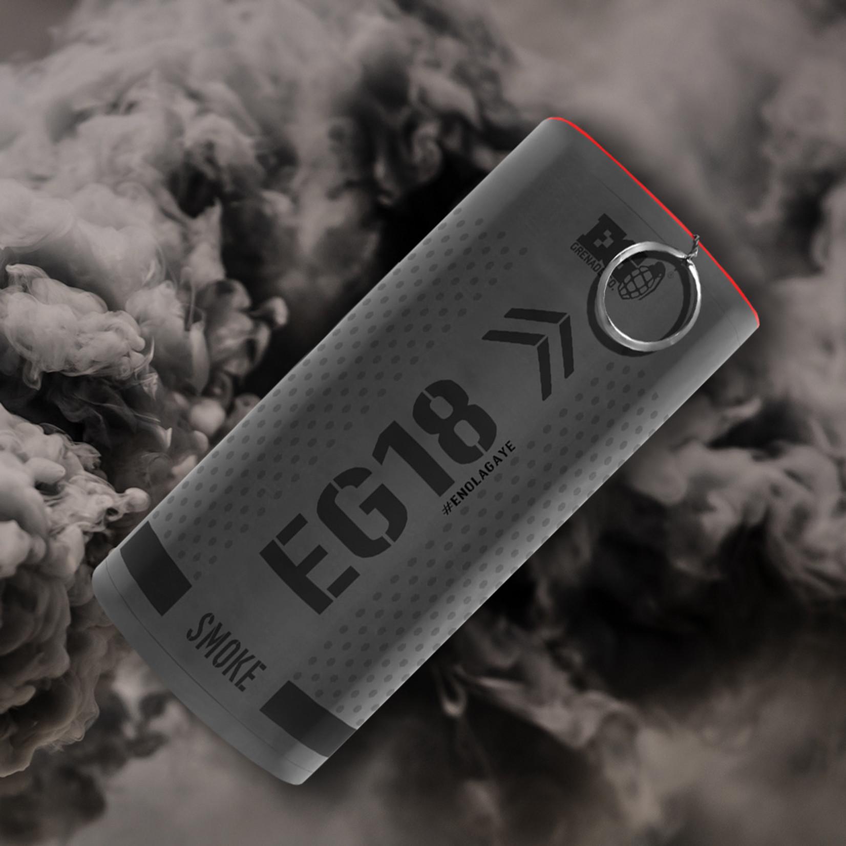 EG18 - Black Smoke Grenade