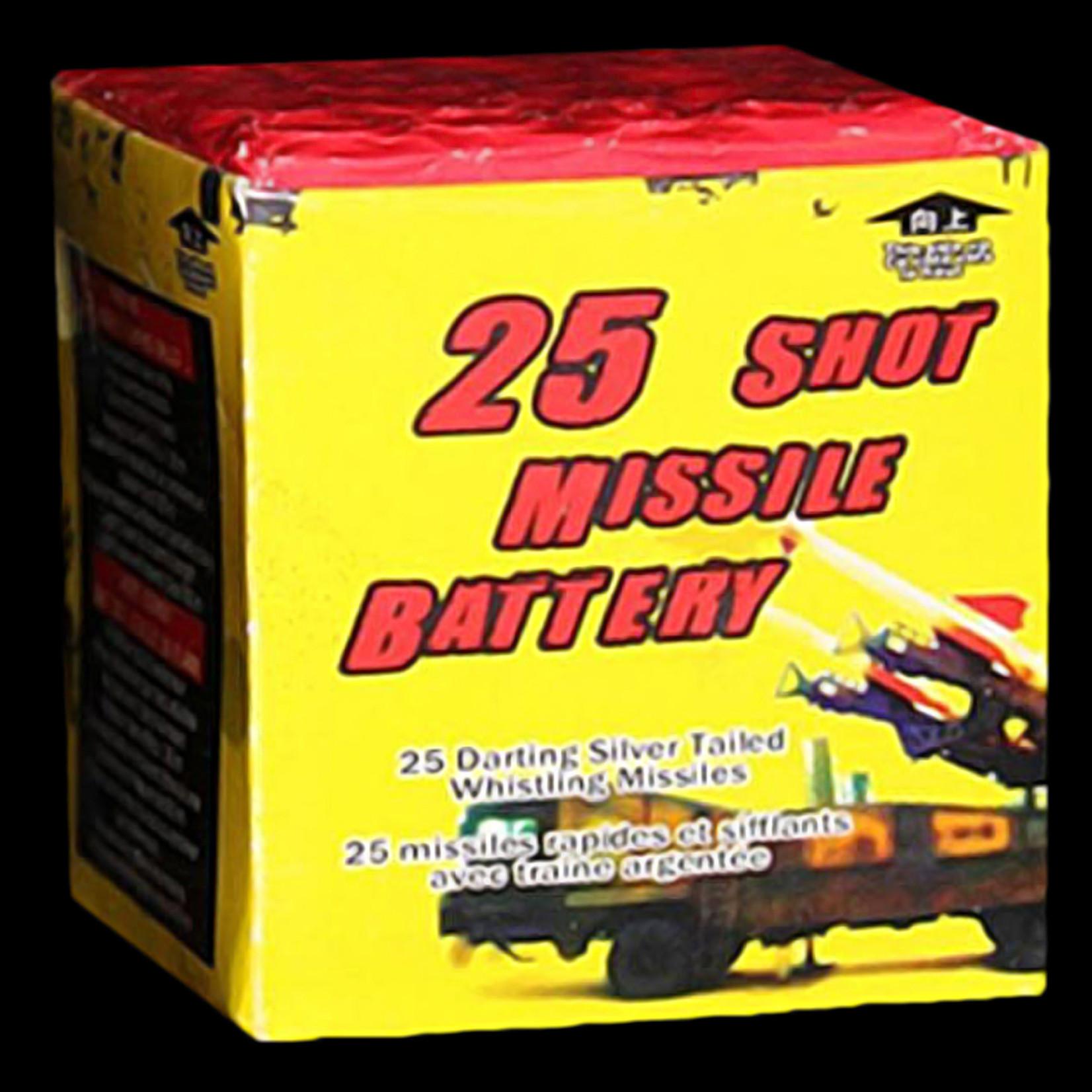25 Shot Missile Battery