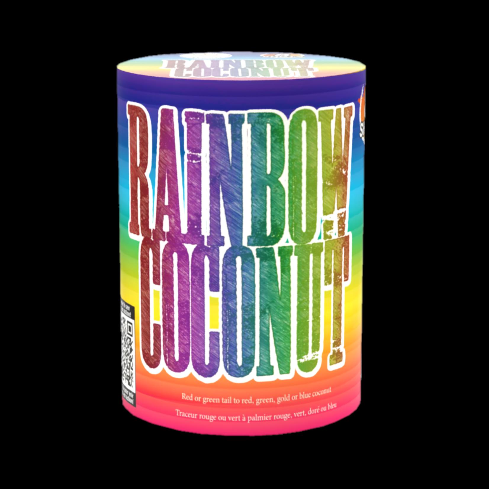Rainbow Coconut