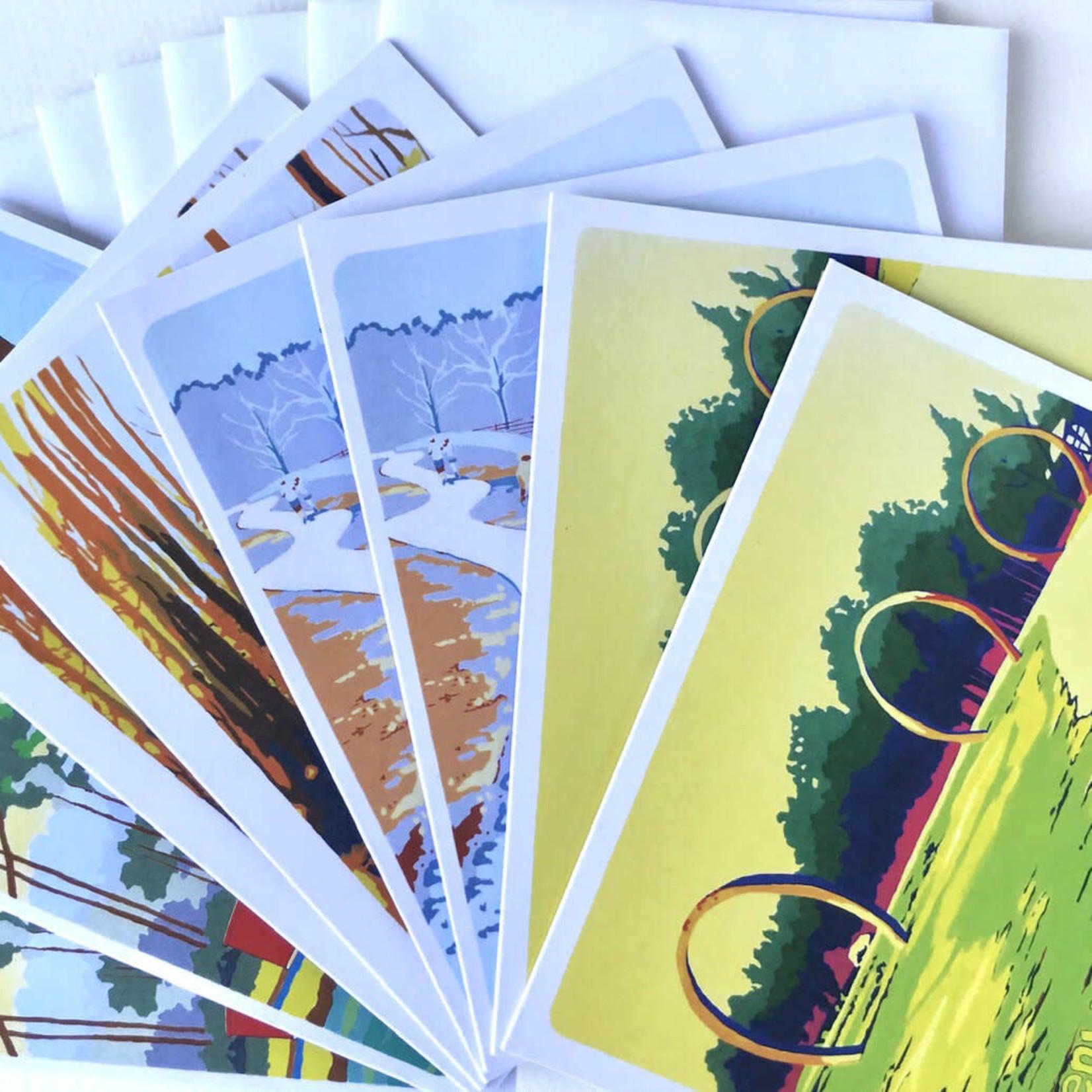 Autumn Cobeland Paintings Autumn Cobeland Card Set (8)