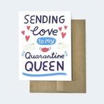 Aviate Press Quarantine Queen Card