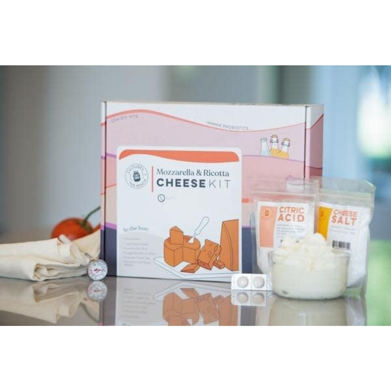 Cultures for Health Mozzarella and Ricotta Cheese Kit