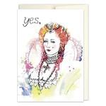 Jillian Ohl Yes Queen Card