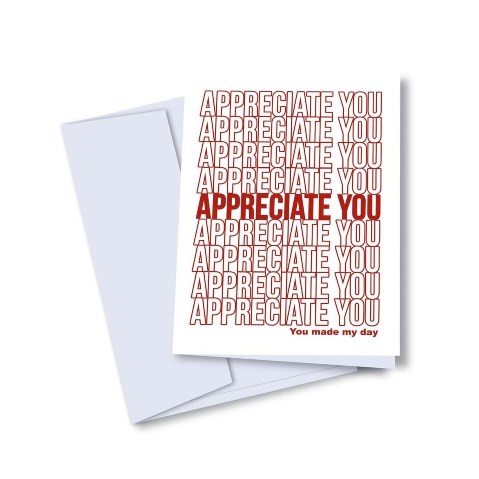 Appreciated Card