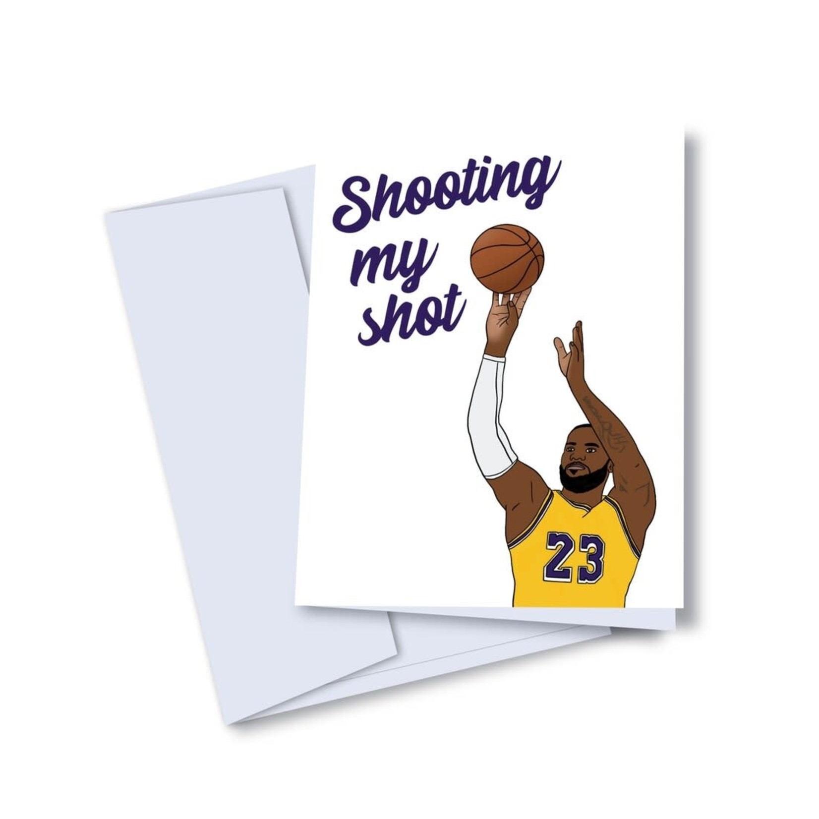 Shooting My Shot Card