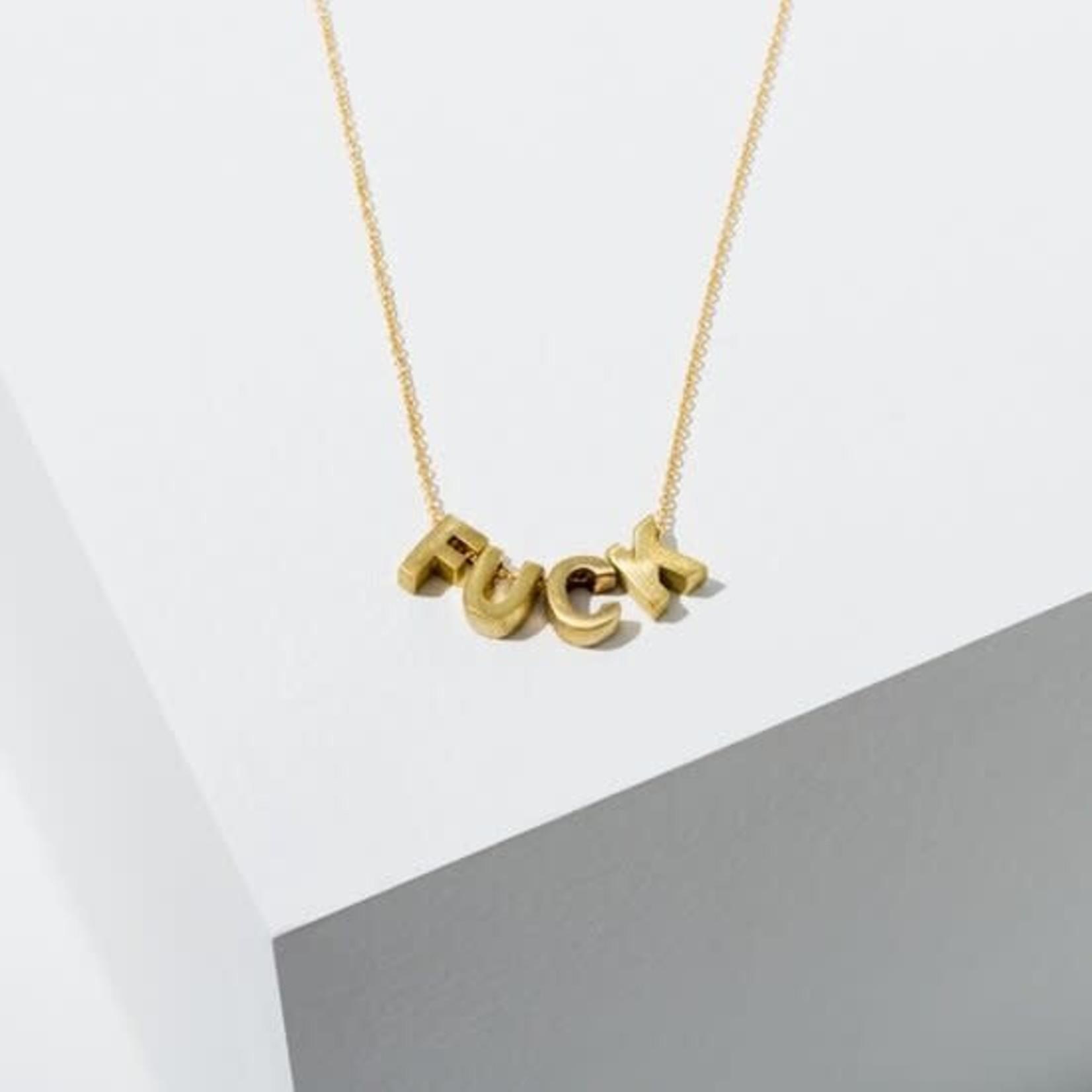 Fuck Necklace