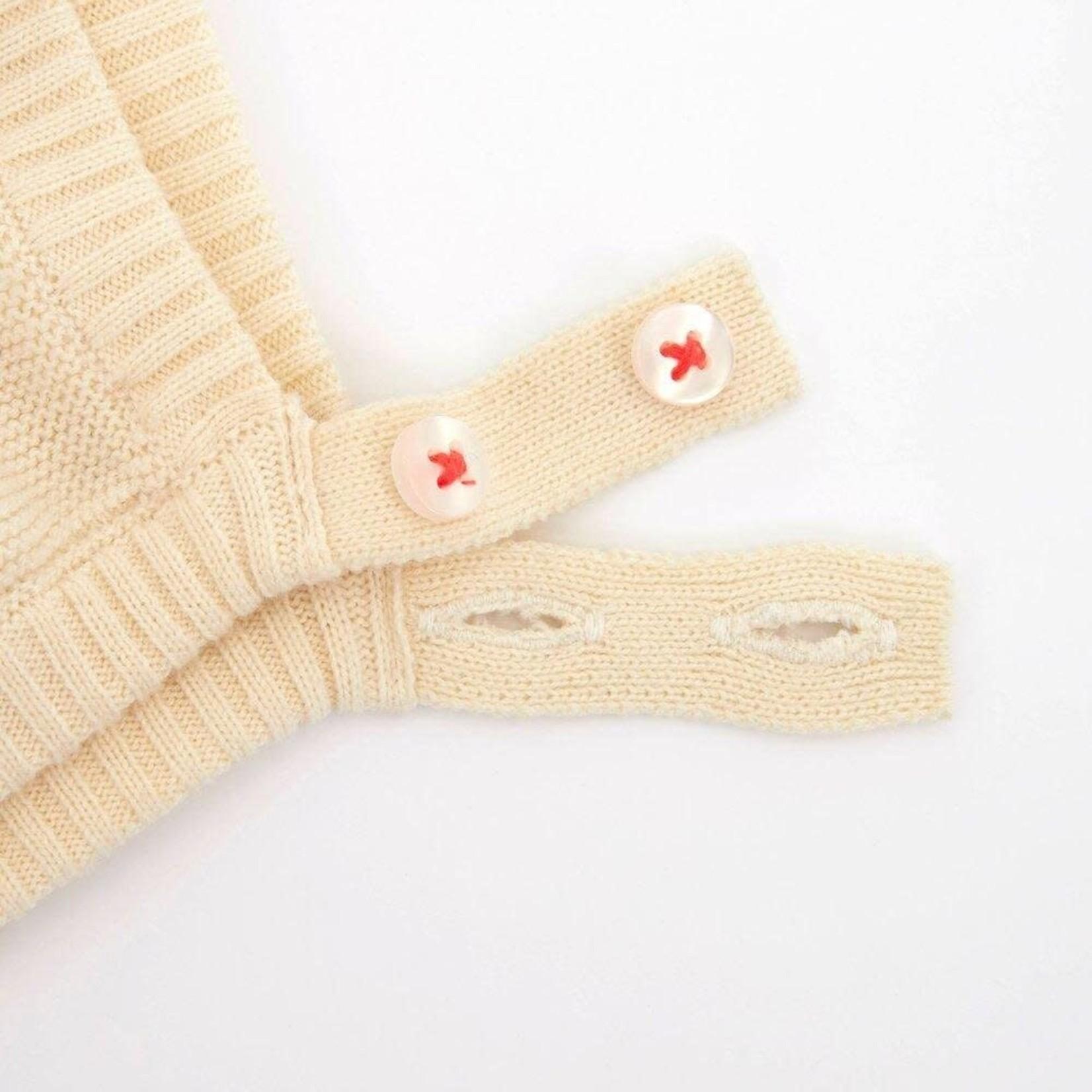Meri Meri Knit Baby Bonnet