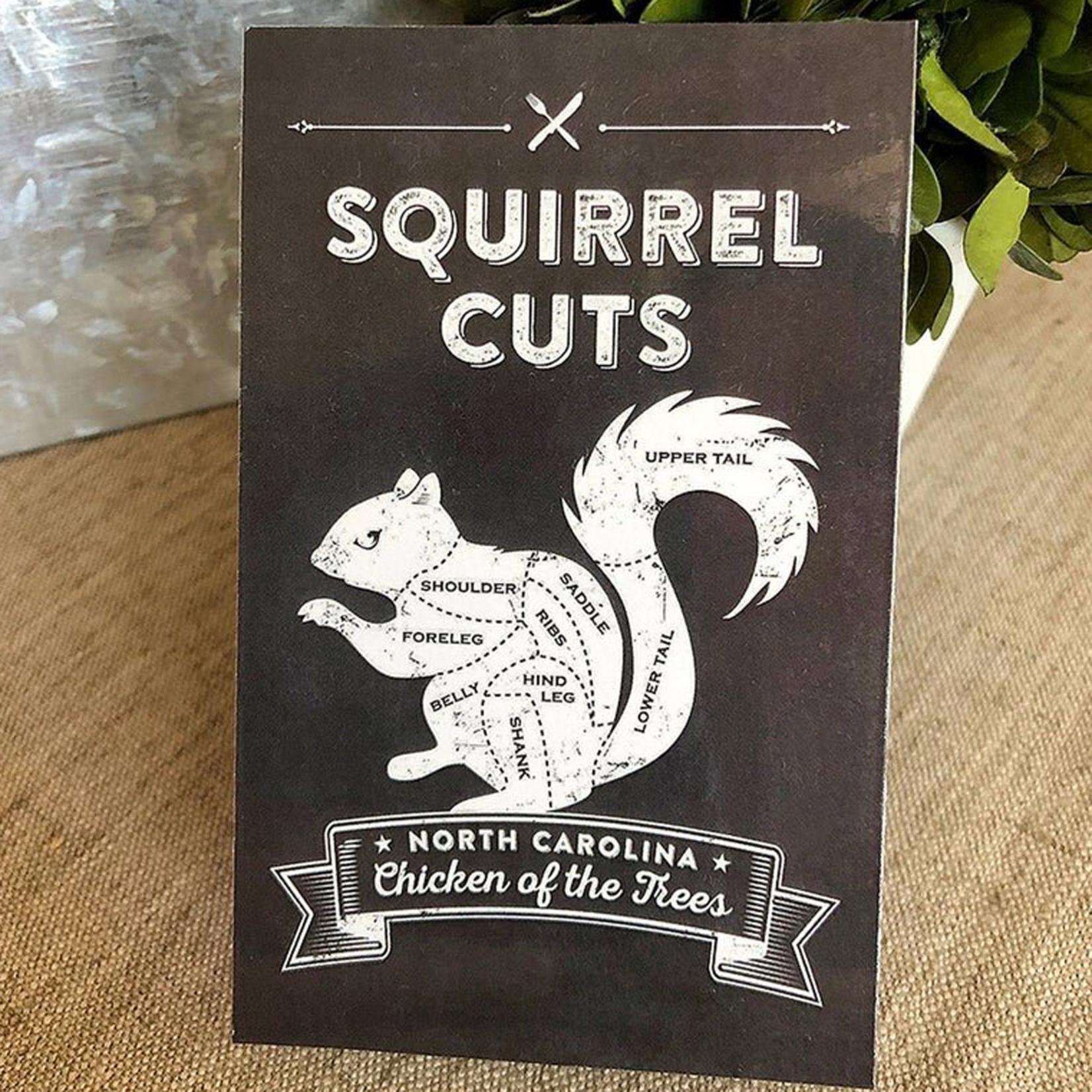 Squirrel Cut Designs Squirrel Cut Magnet