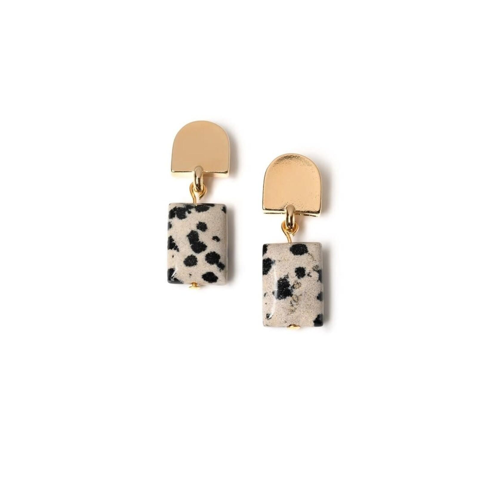 VUE by SEK Gold Dome Earrings